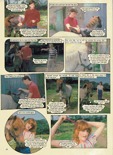 Horsing Around photo story from Jackie annual '84, starring Alan Cumming 3