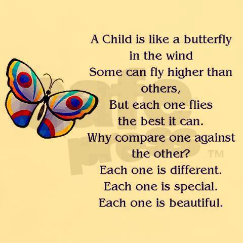 Quotes amp Inspiration A Child Is Like Butterfly In The Wind