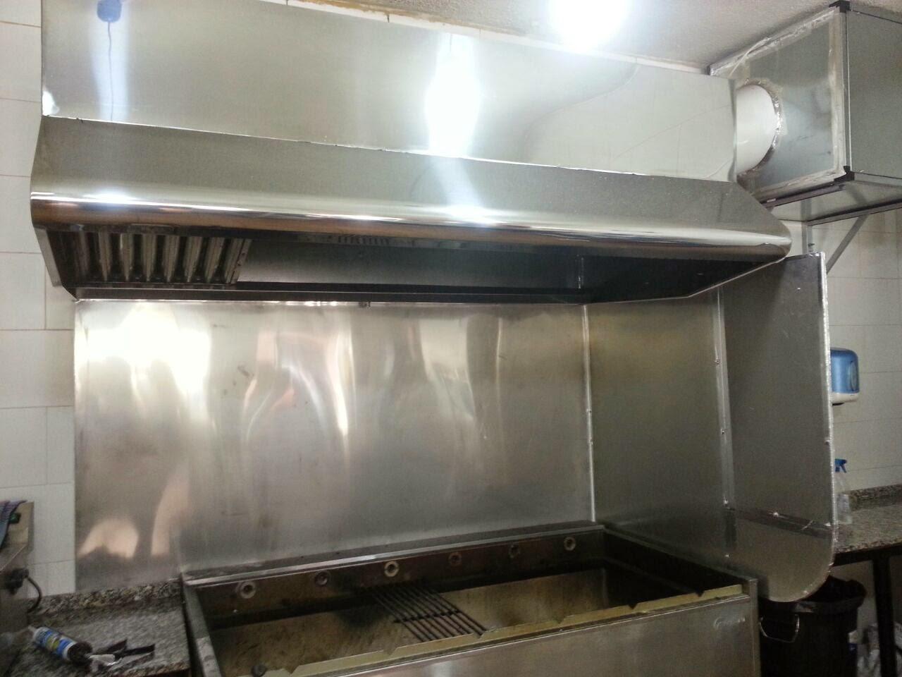 Evacuaci n de humos instalaci n de extractores trabajos - Extractores de humos para cocinas ...