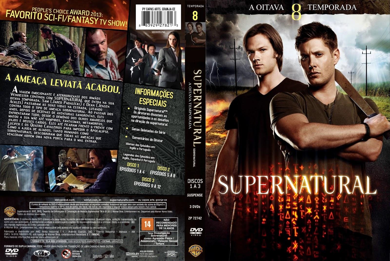 Resultado de imagem para supernatural 8 temporada