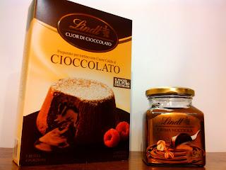 Tortino Lindt con cuore caldo al cioccolato Napoli