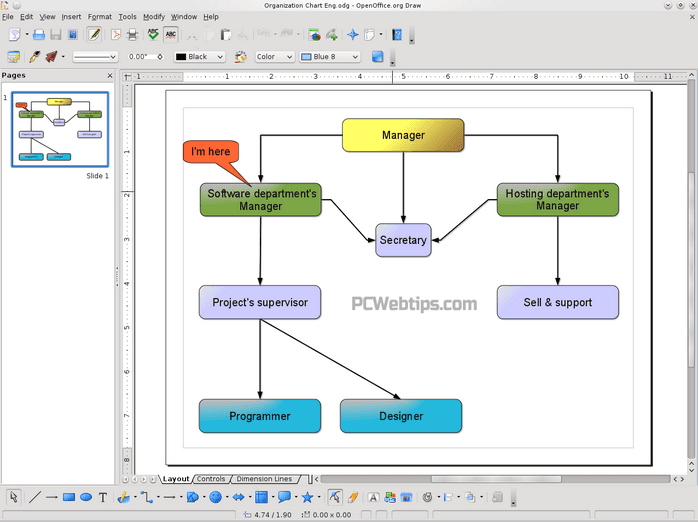 4 alternativas microsoft visio crear diagramas gratis pcwebtips 2 draw ccuart Choice Image