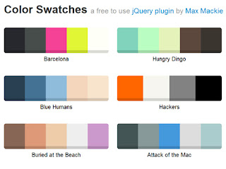 jquery.swatches - jQuery plugin to create beautiful color swatches