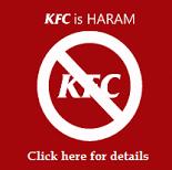 தமிழ்நாட்டில் இயங்குகின்ற   K F C CHICKEN ஹராம்