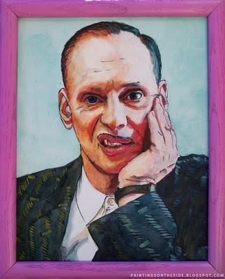 John Waters art painting
