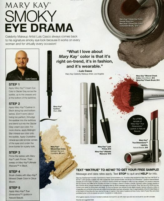 Smoky eye Drama! My tips on Oprah Magazine this month!