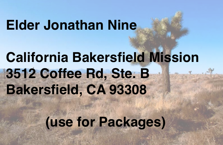 MISSION OFFICE ADDRESS: