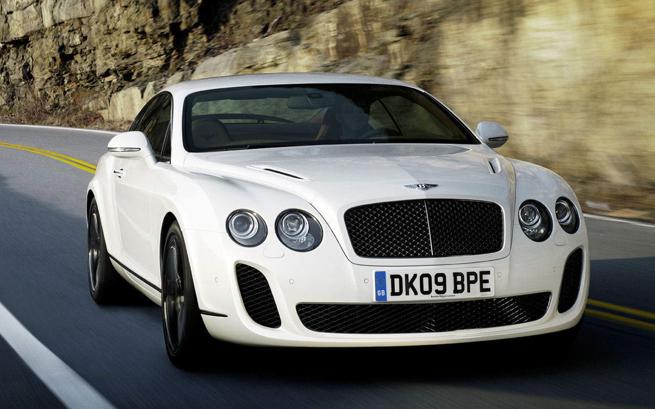 Super cars bentley continental supersports for The bentley