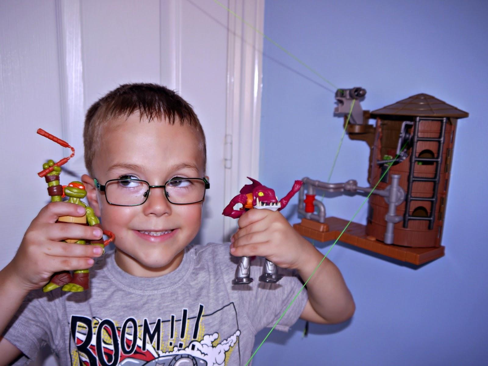 TMNT, playset, toys