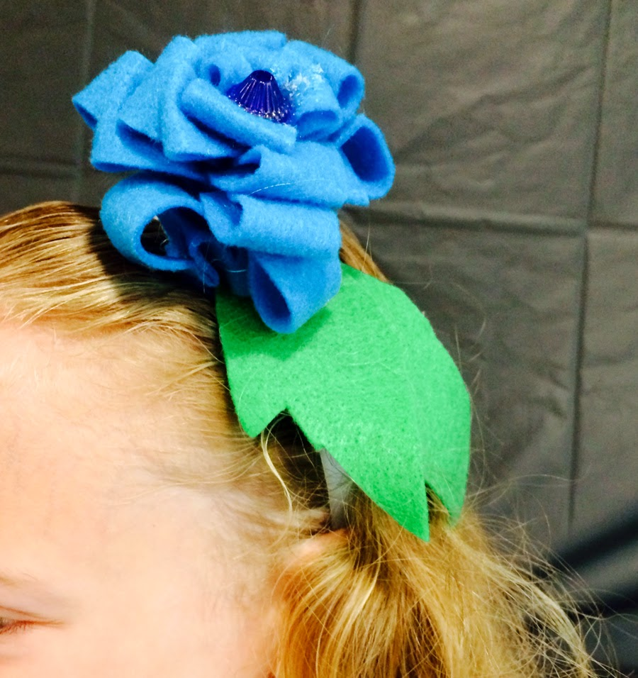 Blossoming Headbands at Fashion Design Sewing Camp | Belinda Lee Designs | Raleigh NC