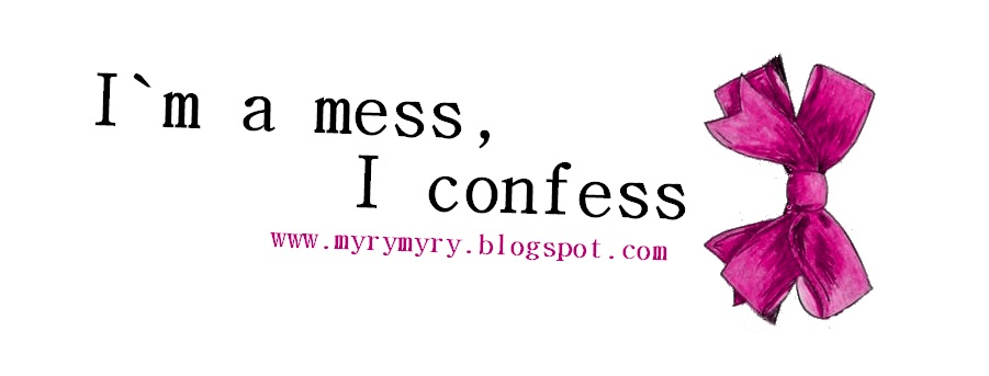 I`m a mess, I confess