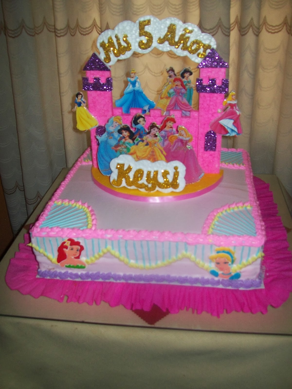 La casita del postre tortas infantiles cupcakes for Decoracion de tortas para ninas