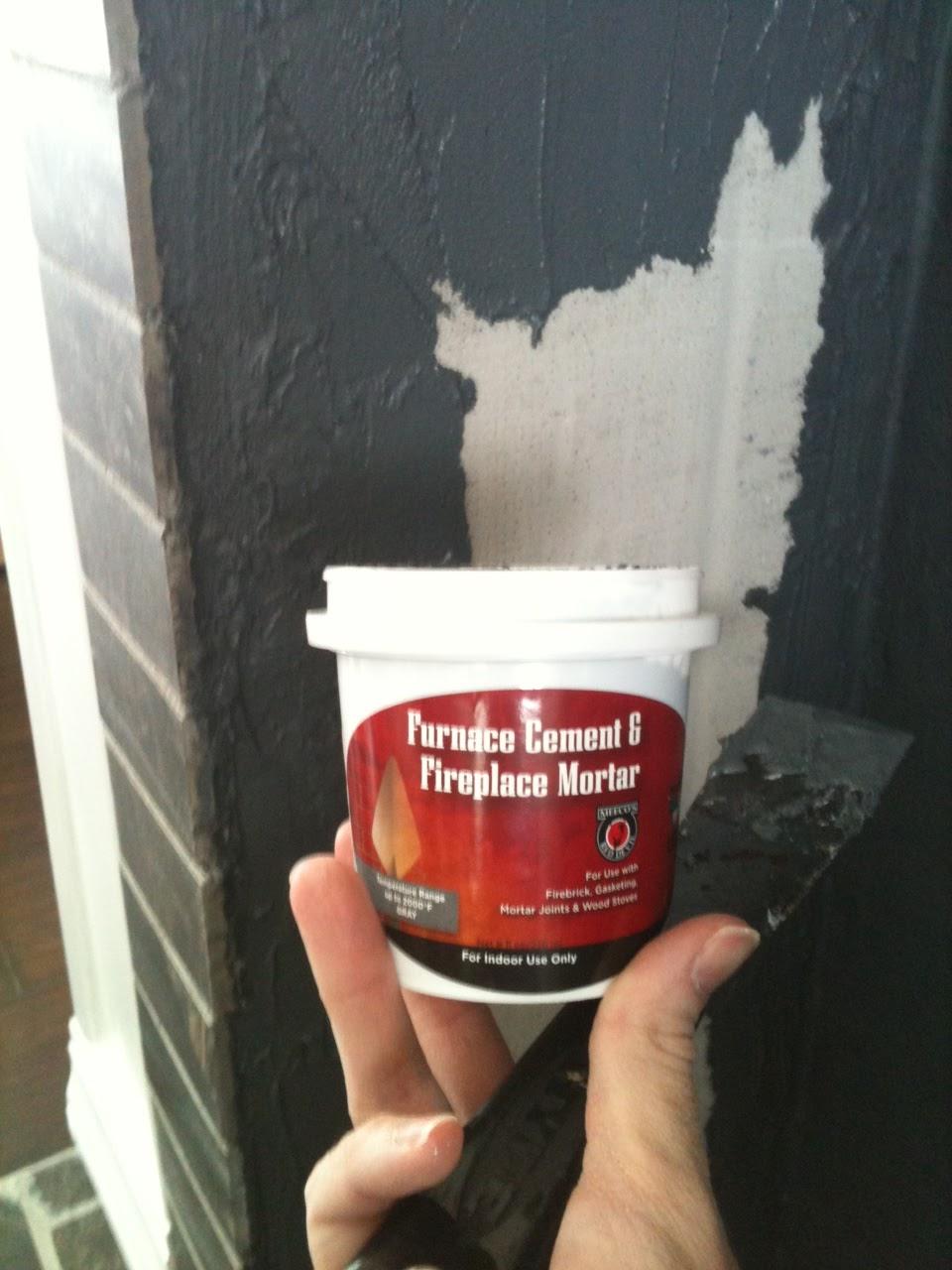 Fireproof Mortar Quikrete : How to build a faux fireplace matsutake