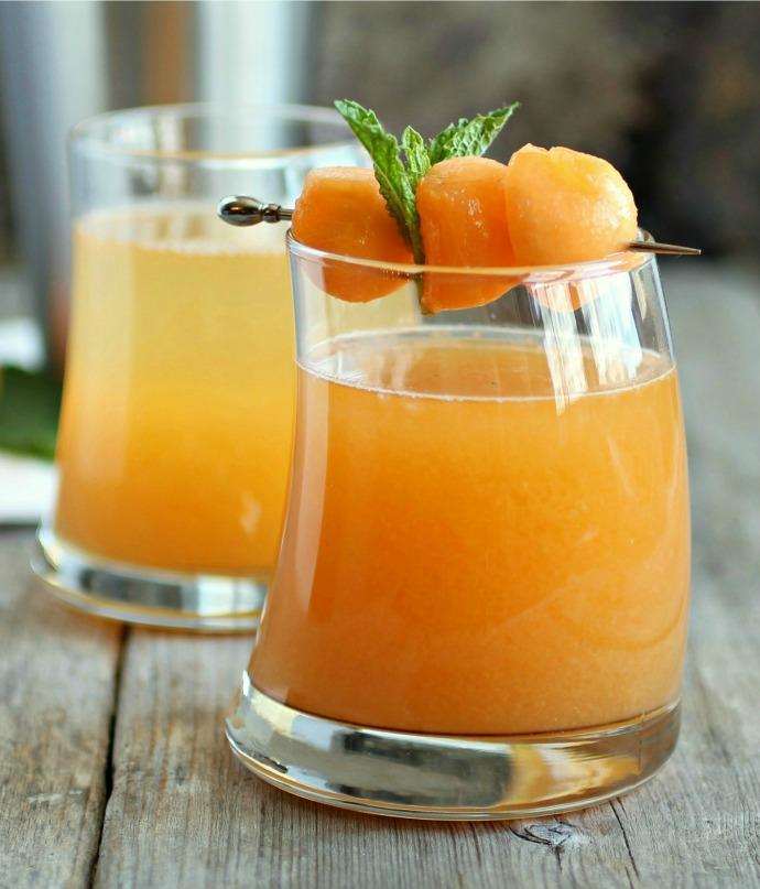 Cantaloupe Melon Martini