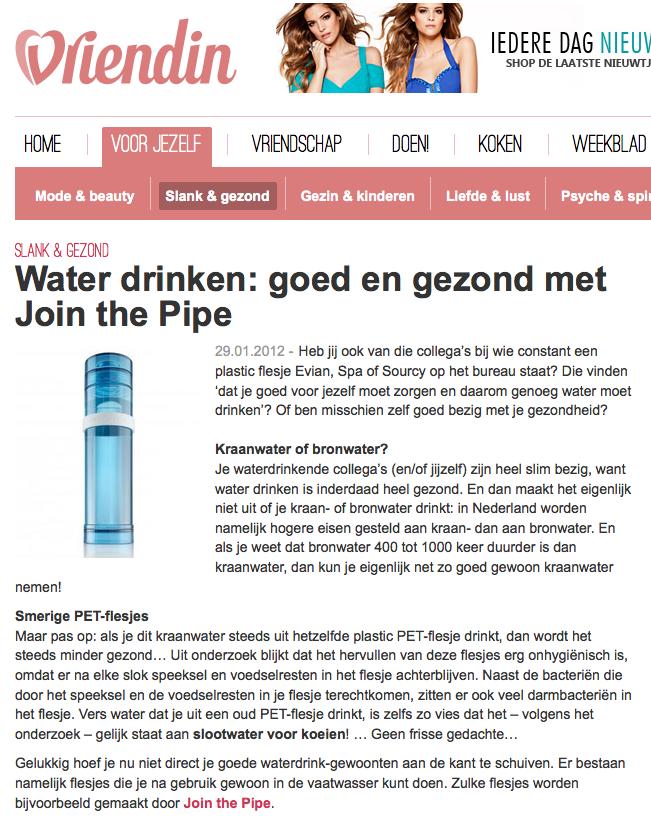 is heet water drinken gezond