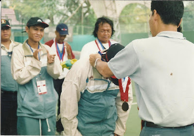 Perunggu Tenis Beregu Porwanas Pekanbaru, 2005