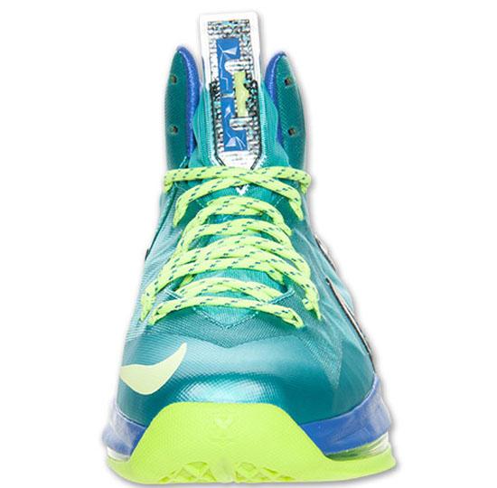 Nike LeBron X PS Elite Sport Turquoise/Volt-Violet Force Release Reminder
