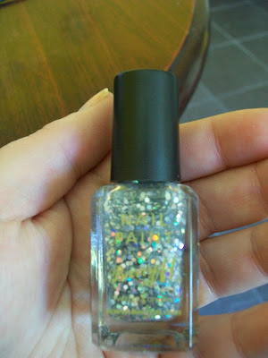 thats the way the cookie crumbles, nail varnish, nail polish, nail lacquer, nails, cosmetics, make up, Barry M, Nail Paint, glitter, Hologram