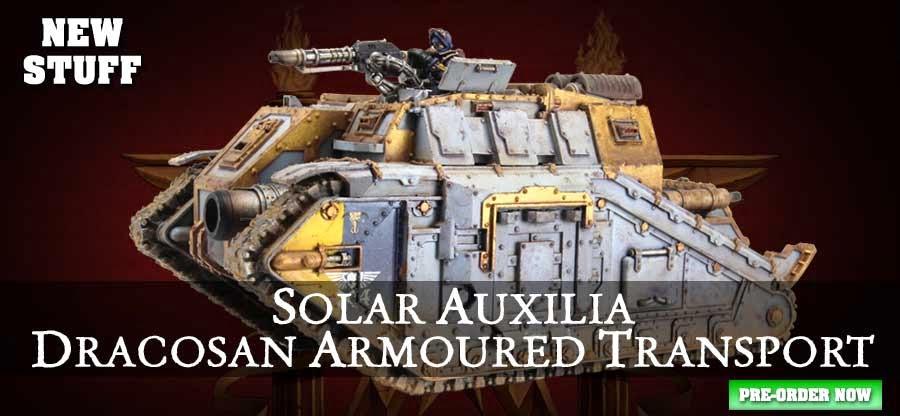 Dracosan Armoured Transport and Tank Crews