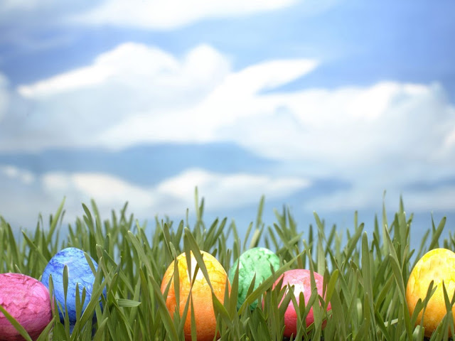 Happy Easter for desktop background