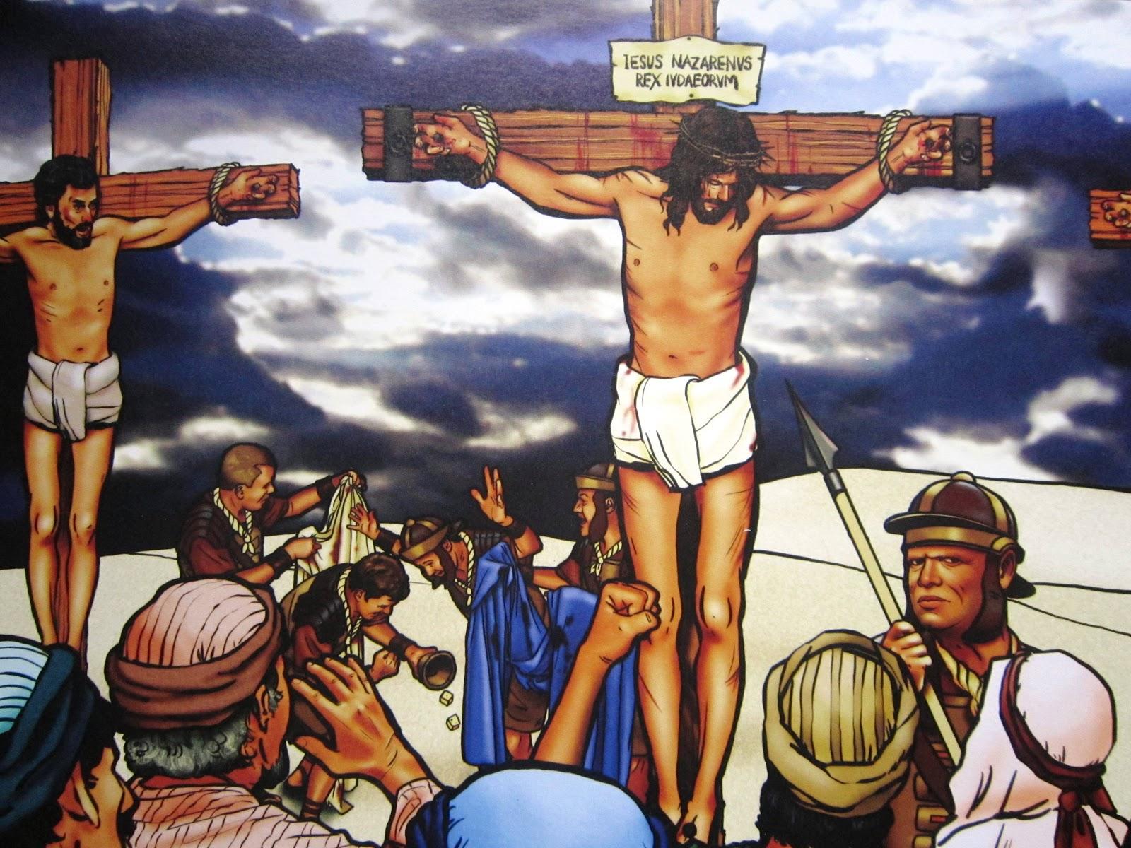 de Here Jezus heeft zelf verteld dat Hij weer op staat, na drie dagen ...: tabjesjoy.blogspot.nl/2013/03/kinderclub-de-kruisiging.html