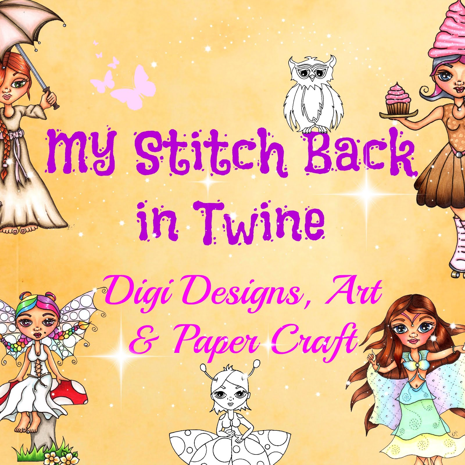 My Stitch Back In Twine Digi Designs