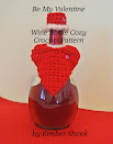Be My Valentine Wine Bottle Cozy Crochet Pattern