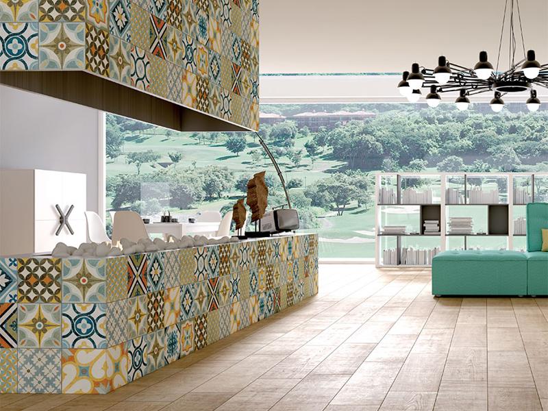 Marokańska mozaika we wnętrzu  Bajkowe Wnętrza -> Kuchnia Plytki Mozaika