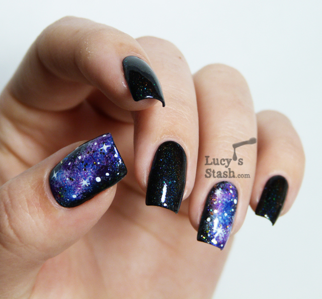 Lucy's Stash - Galaxy nails