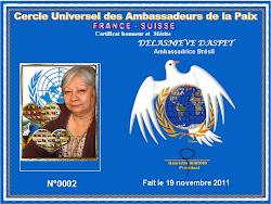 Certificat Honneur et  Mérite
