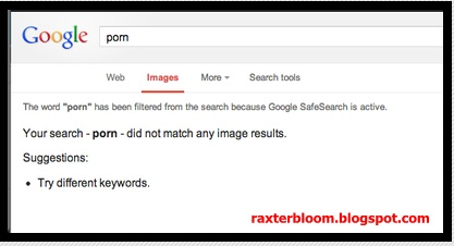 Gambar Porno di Google akan Lebih Susah untuk Dicari - raxterbloom.blogspot.com