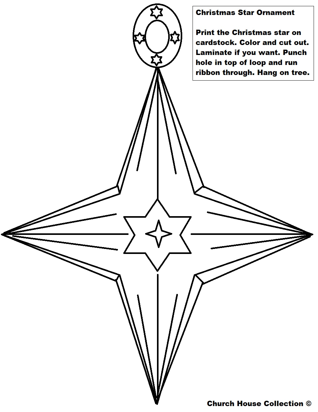 Christmas tree star cutout for coloring search results
