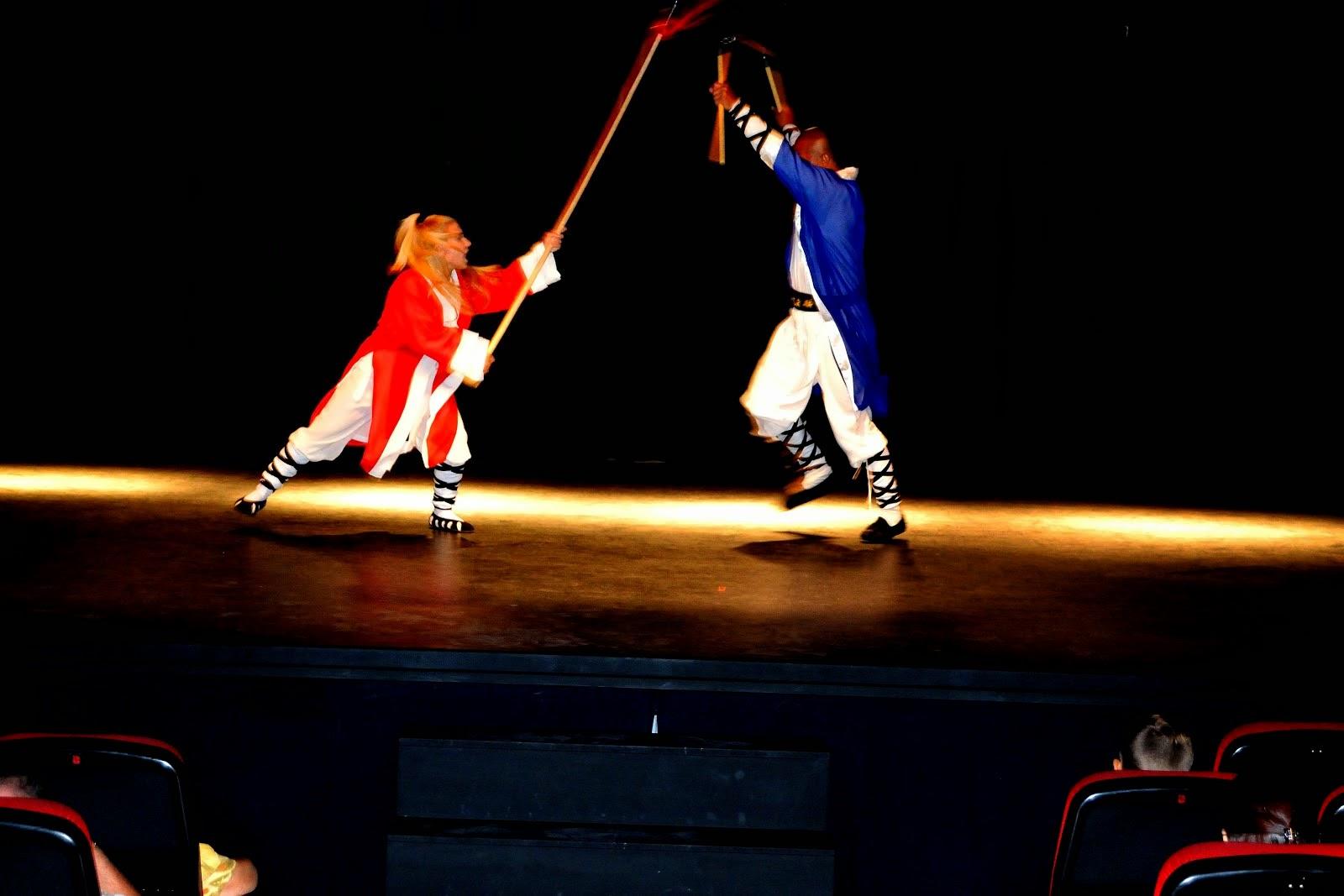 Paty Lee y GrandMaster Senna, Kung Fu Shaolin Tradicional y Wudangshan - Clases y Cursos.