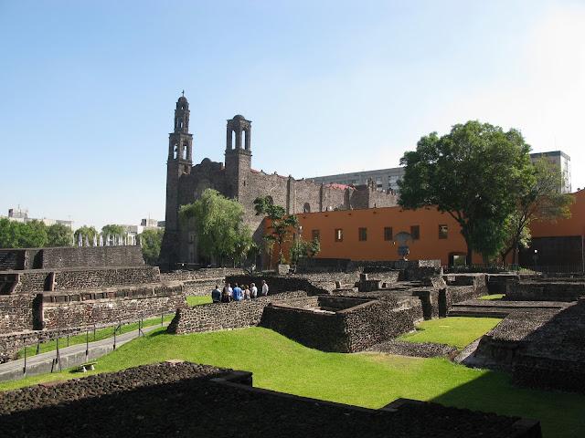 Miasto Meksyk - Plac Trzech Kultur