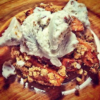 vegan, gluten free, apple crisp, clean eating, recipe
