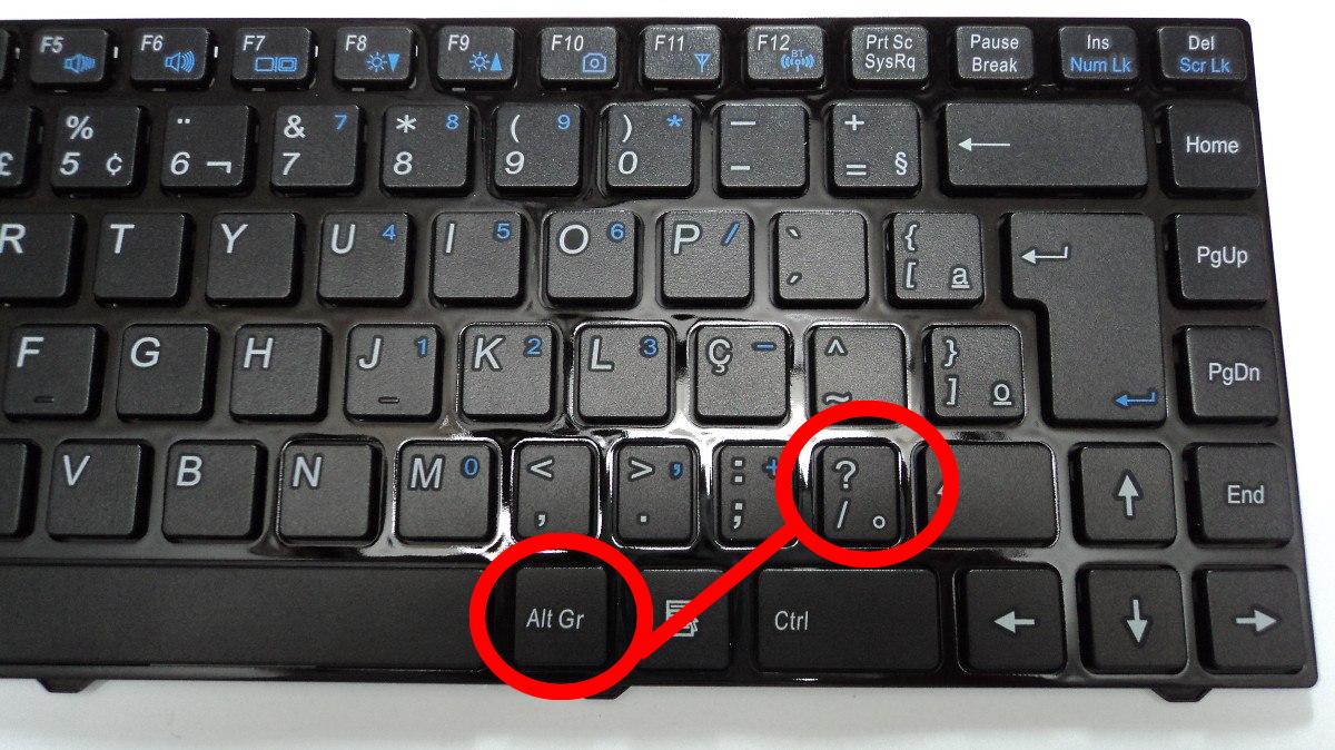 diferentes tipo teclado: