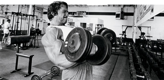 double dumbbell curls