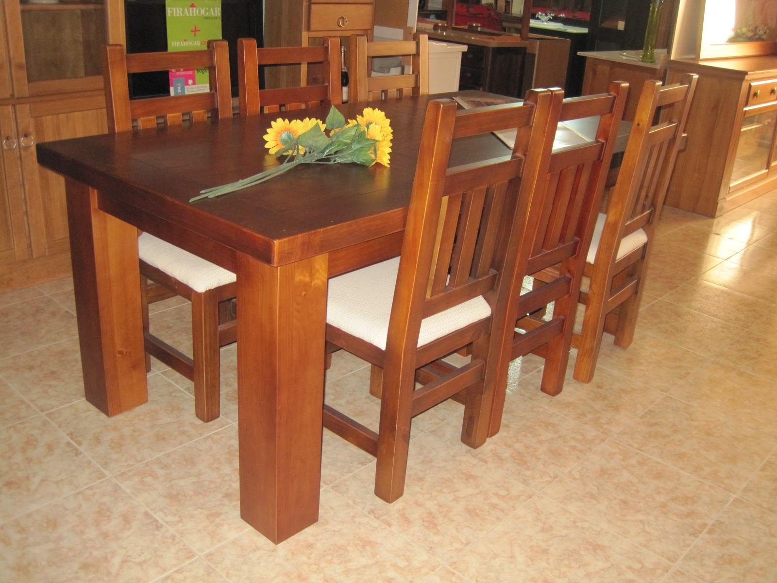 Muebles arcecoll mesas de madera maciza a medida for Muebles madera a medida