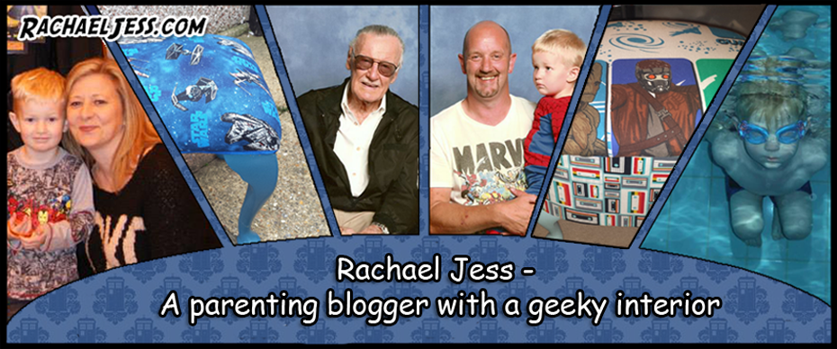 Rachael Jess - A parenting blogger with a geeky craft interior