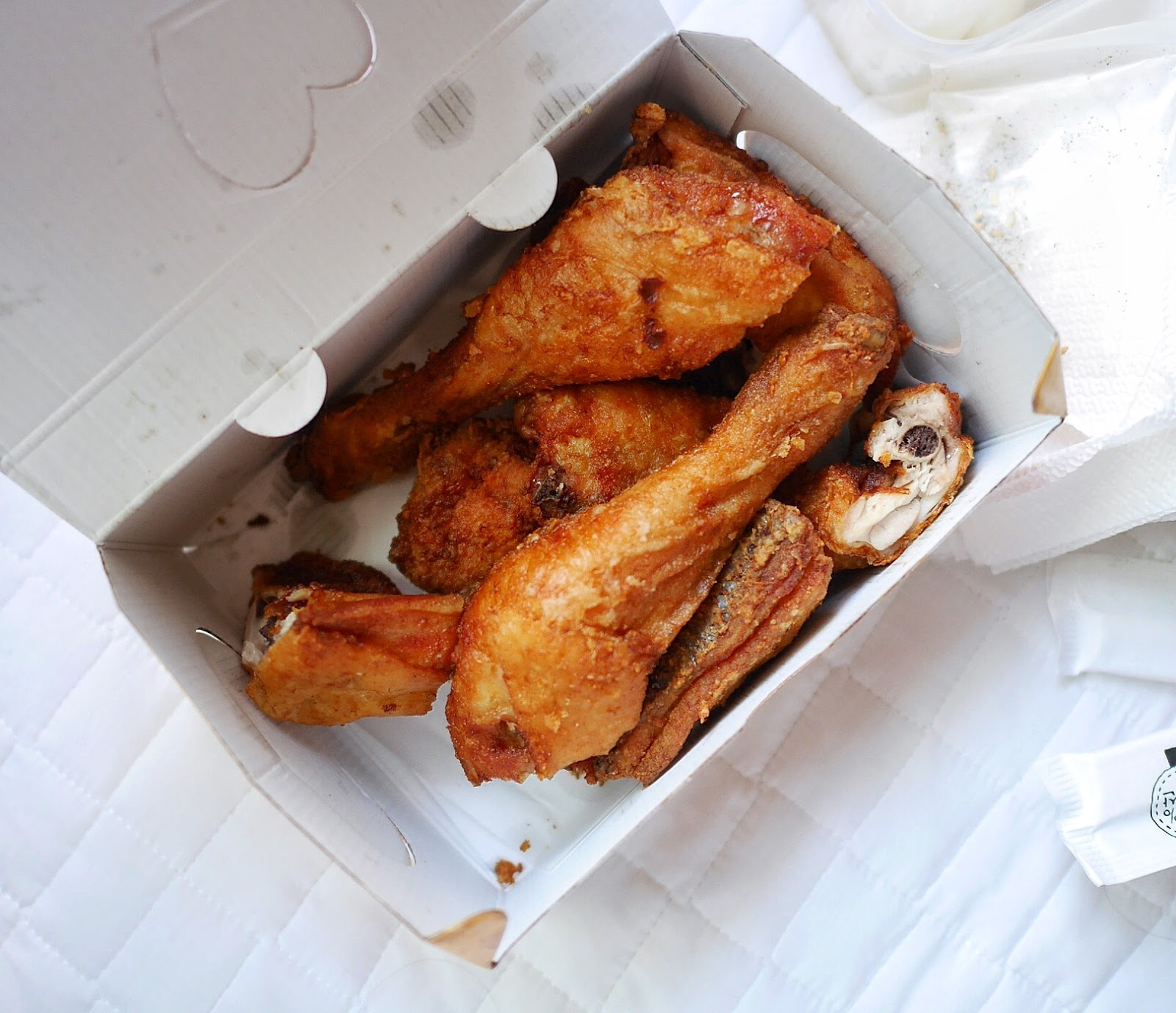 what is the competitive advantage of kentucky fried chicken The residual cooking oil on the chicken peices once cooked, and the chicken fat itself from the skin the majority of the taste of chicken comes from its fatty skin too much of either makes it difficult for your body to cope with immediately and it will stock it locally, wherever it can.