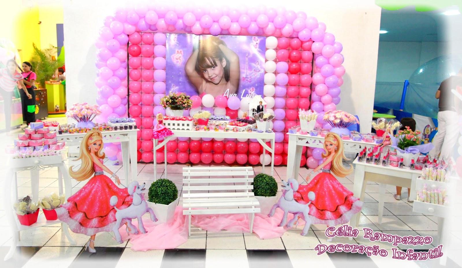 decoracao festa barbie : decoracao festa barbie:Festa: Barbie Moda e Magia