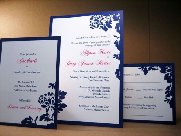 Offset Printing Invitation Cards
