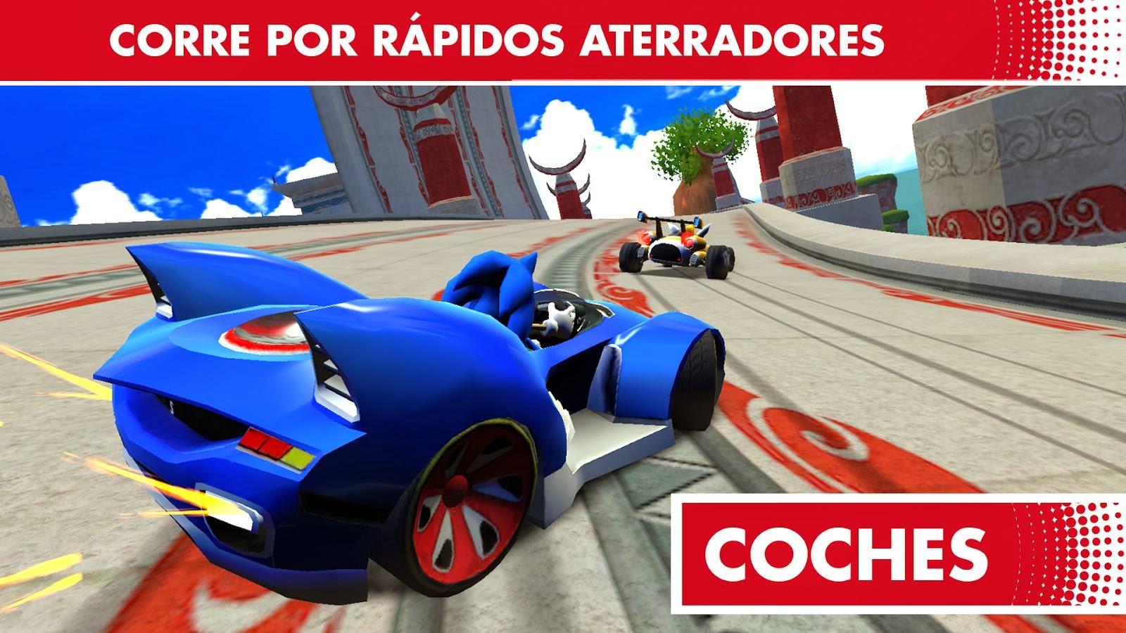Sonic all Star Racing Transformed para Android e iOS, Llega lo último de SEGA