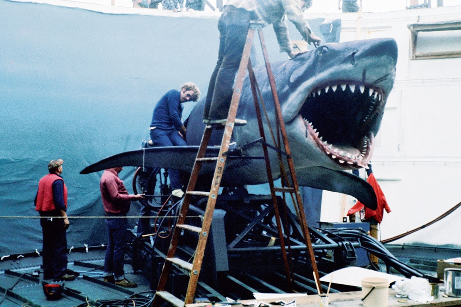 Making of jaws the movie