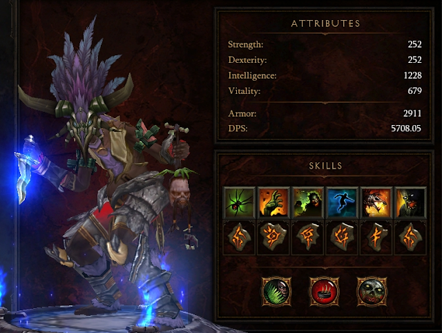 Diablo  Witch Doctor Dps Build