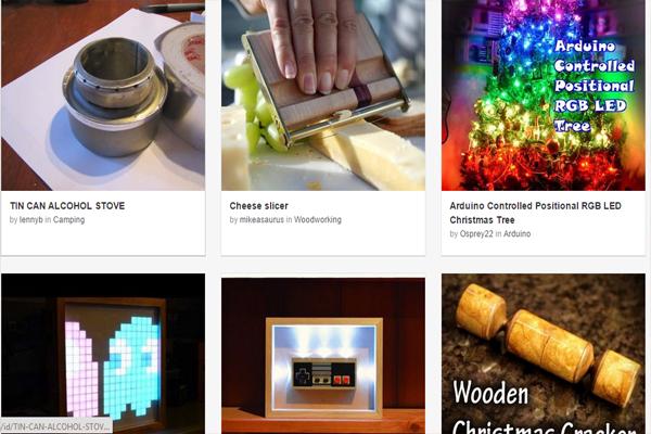 موقع لتعلم صناعة أي شيء تتخيله بأدوات منزلية فقط