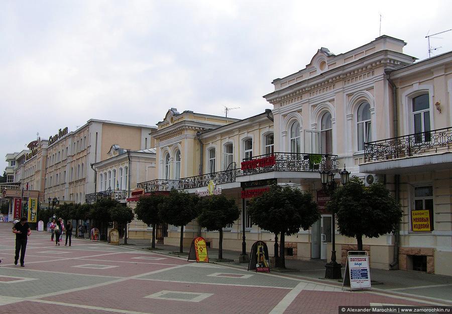 Архитектура на Курортном бульваре Кисловодска