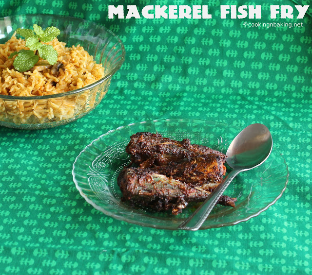Aila Fish Fry (Mackerel Fish Fry)