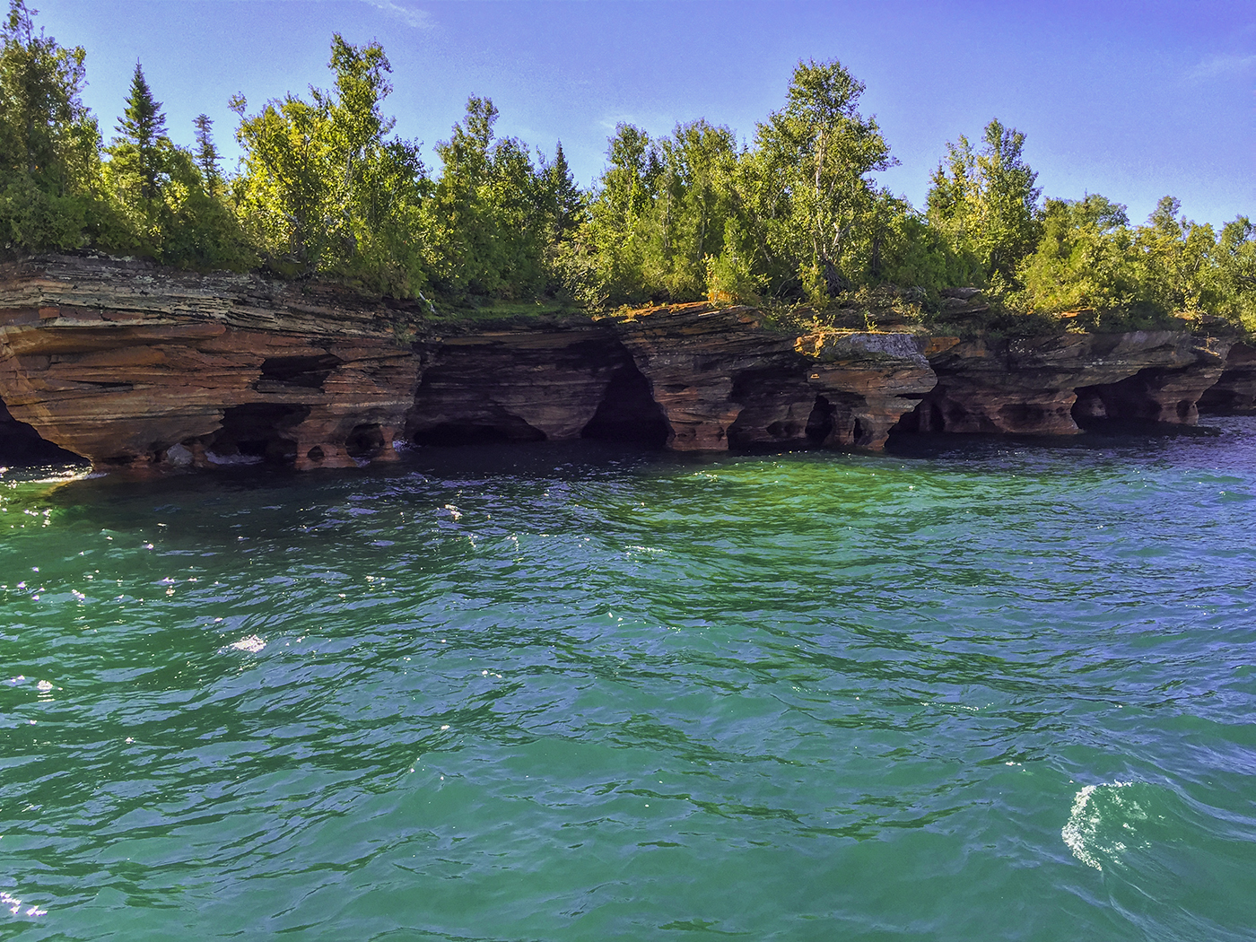 Apostle Islands Camping Map
