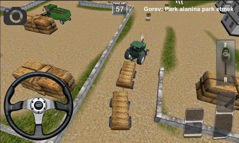 Android Traktör Sürme Oyunu 3D Apk resimi 5
